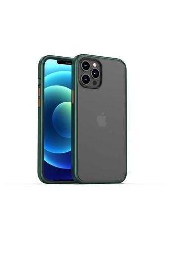 Benks Apple iPhone 12 Pro Kılıf Magic Smooth Drop Resistance Case Yeşil